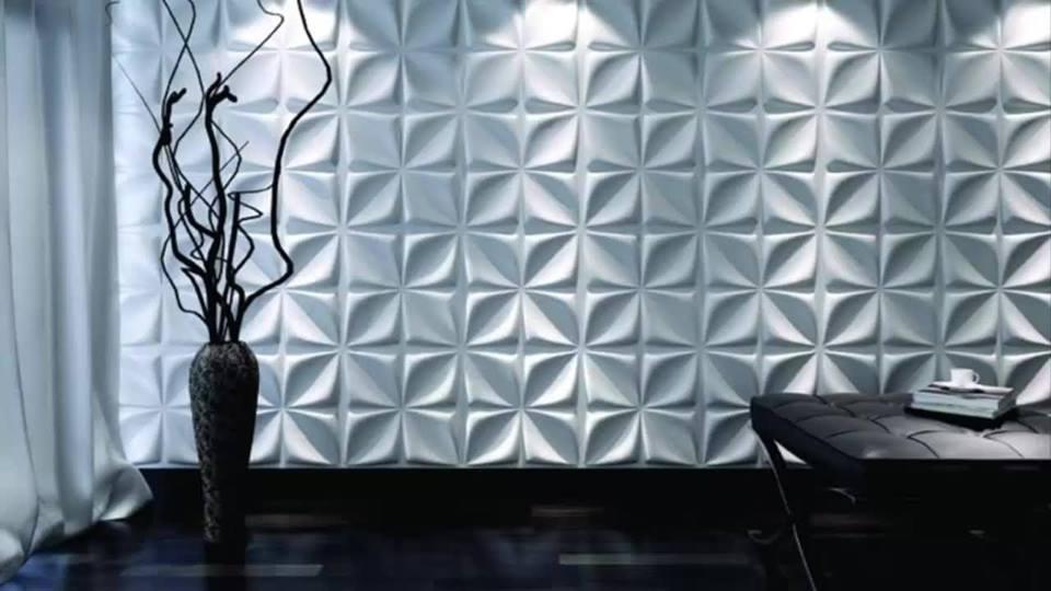 Tấm ốp tường trang trí 3D – Tấm ốp tường của phong cách mới.
