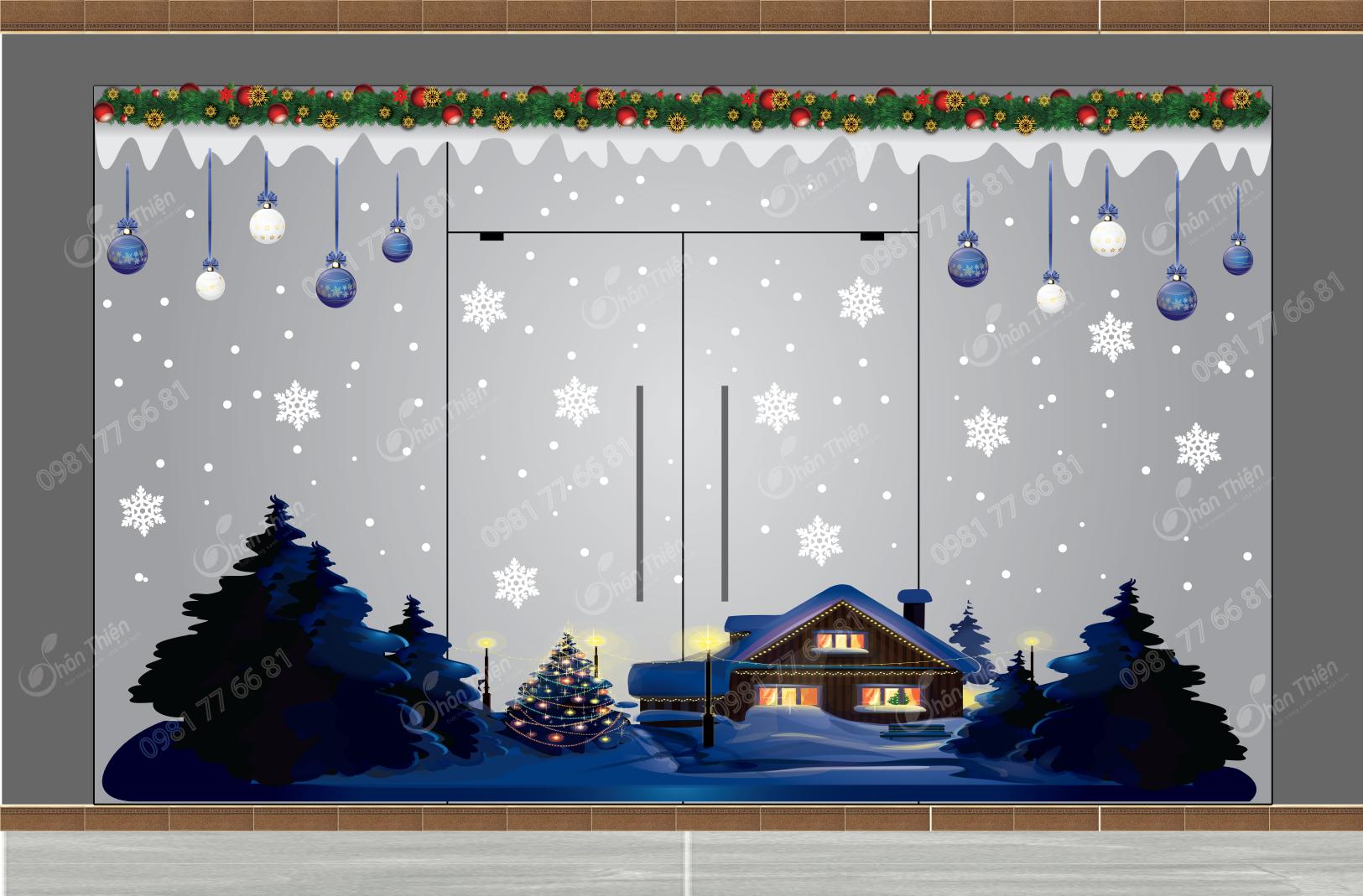 Trang Trí Noel Mẫu N4